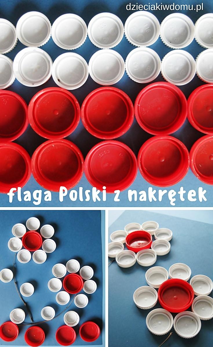 flaga Polski kreatywnie