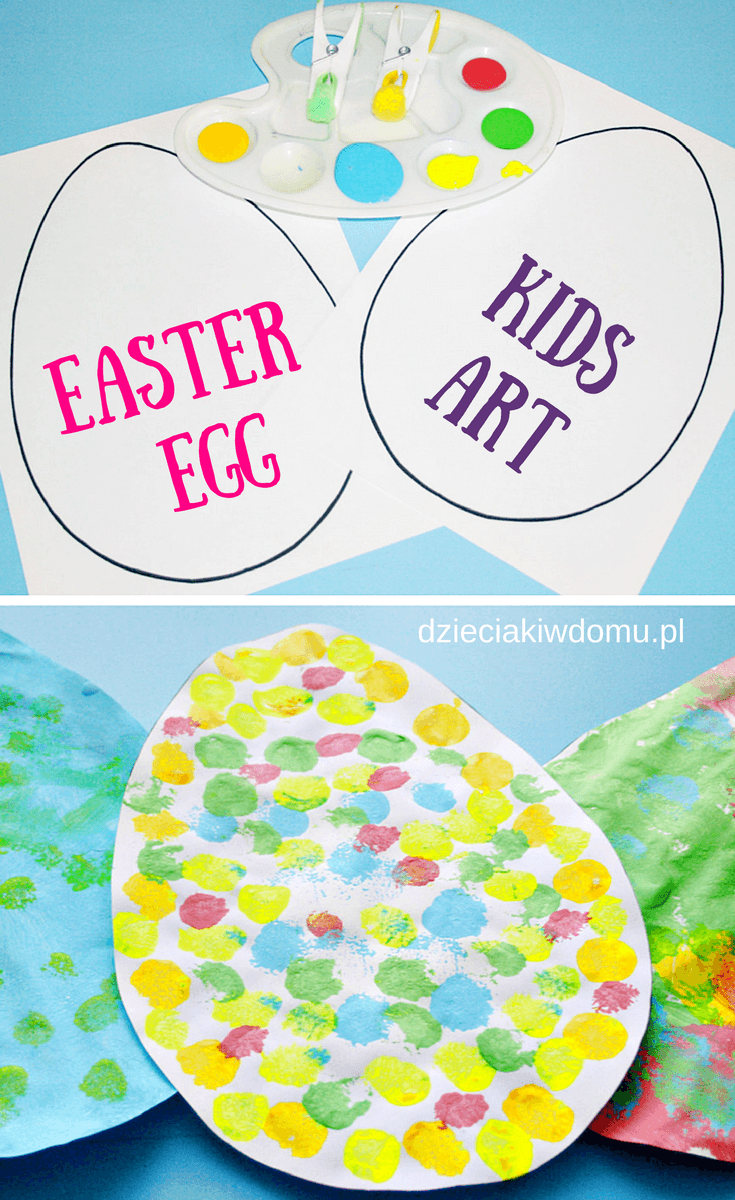 easter eggs kids art