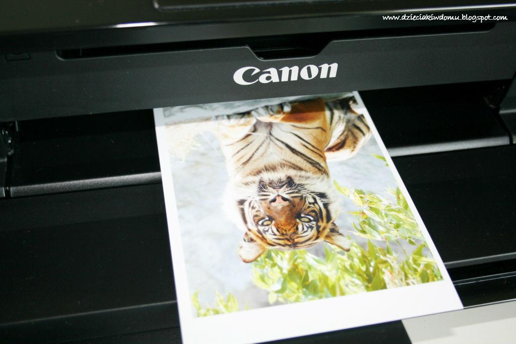 zdjęcia - magnesy na lodówkę, drukowanie zdjęć z dziećmi, wspomnienia z wakacji, Canon Pixma