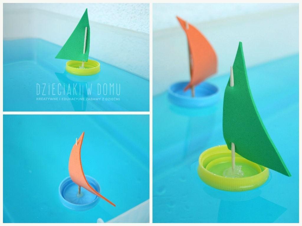 Łódki z nakrętek i pokrywek, czyli zabawki z recyklingu ...