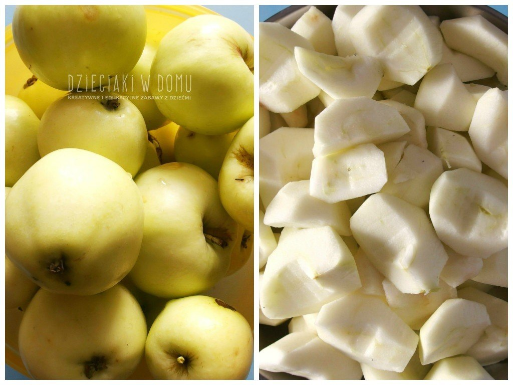 apple crisp - jabłecznik po amerykansku
