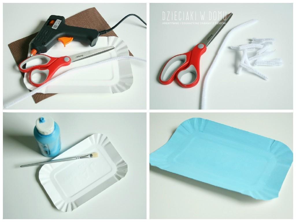 bazie - praca plastyczna dla dzieci