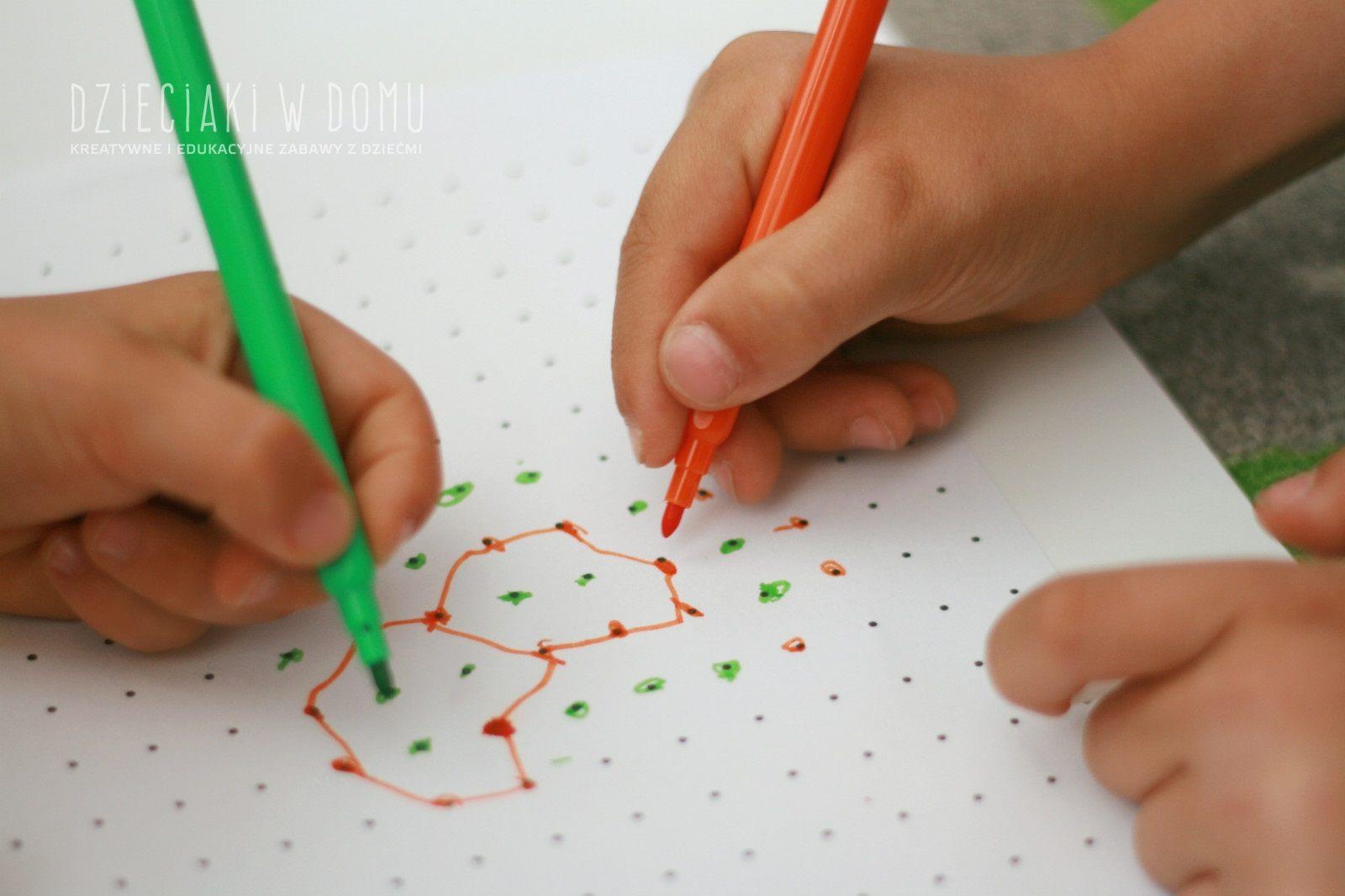 gra w kropki dla dzieci