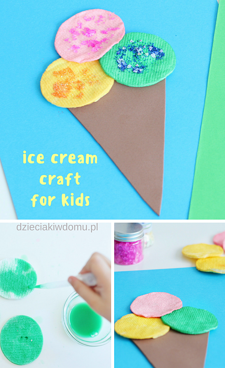 ice cram craft for kids