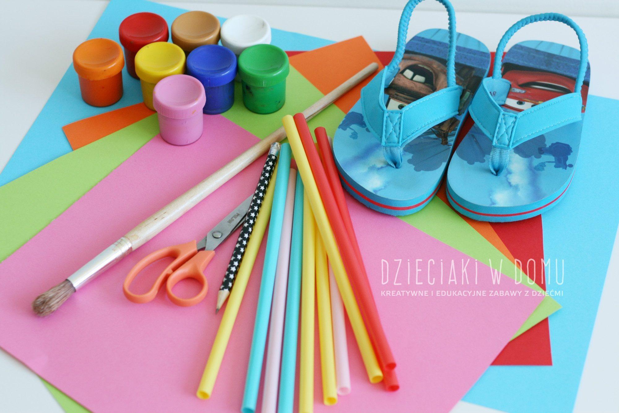 Japonki - kreatywna praca plastyczna dla dzieci na lato