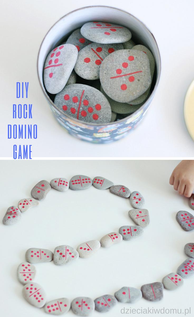 domino z kamieni diy