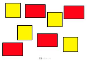 kwadraty i prostokąty - szablon
