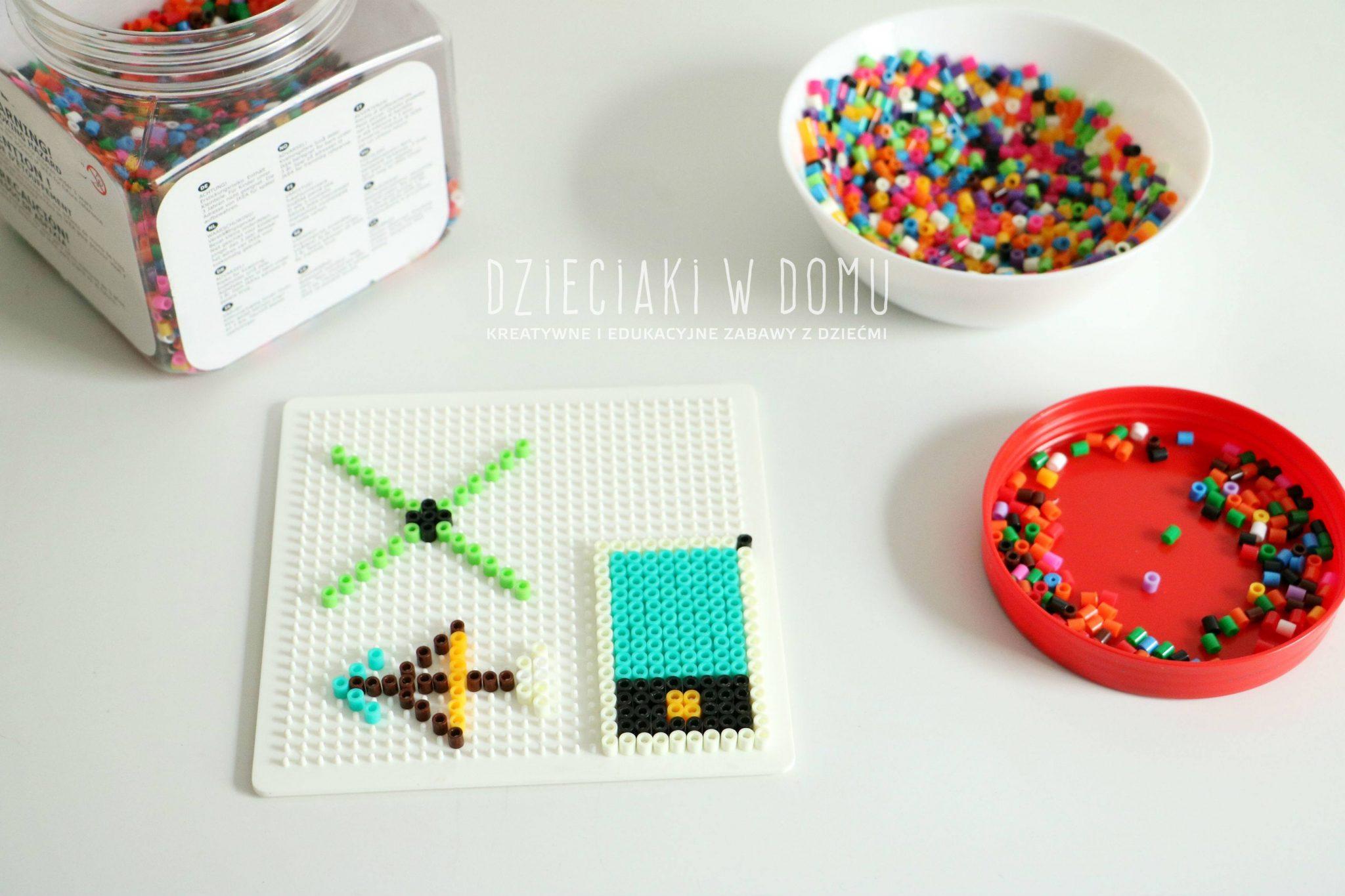 koraliki hama/pyssla/do zaprasowywania - kreatywna zabawa dla dzieci