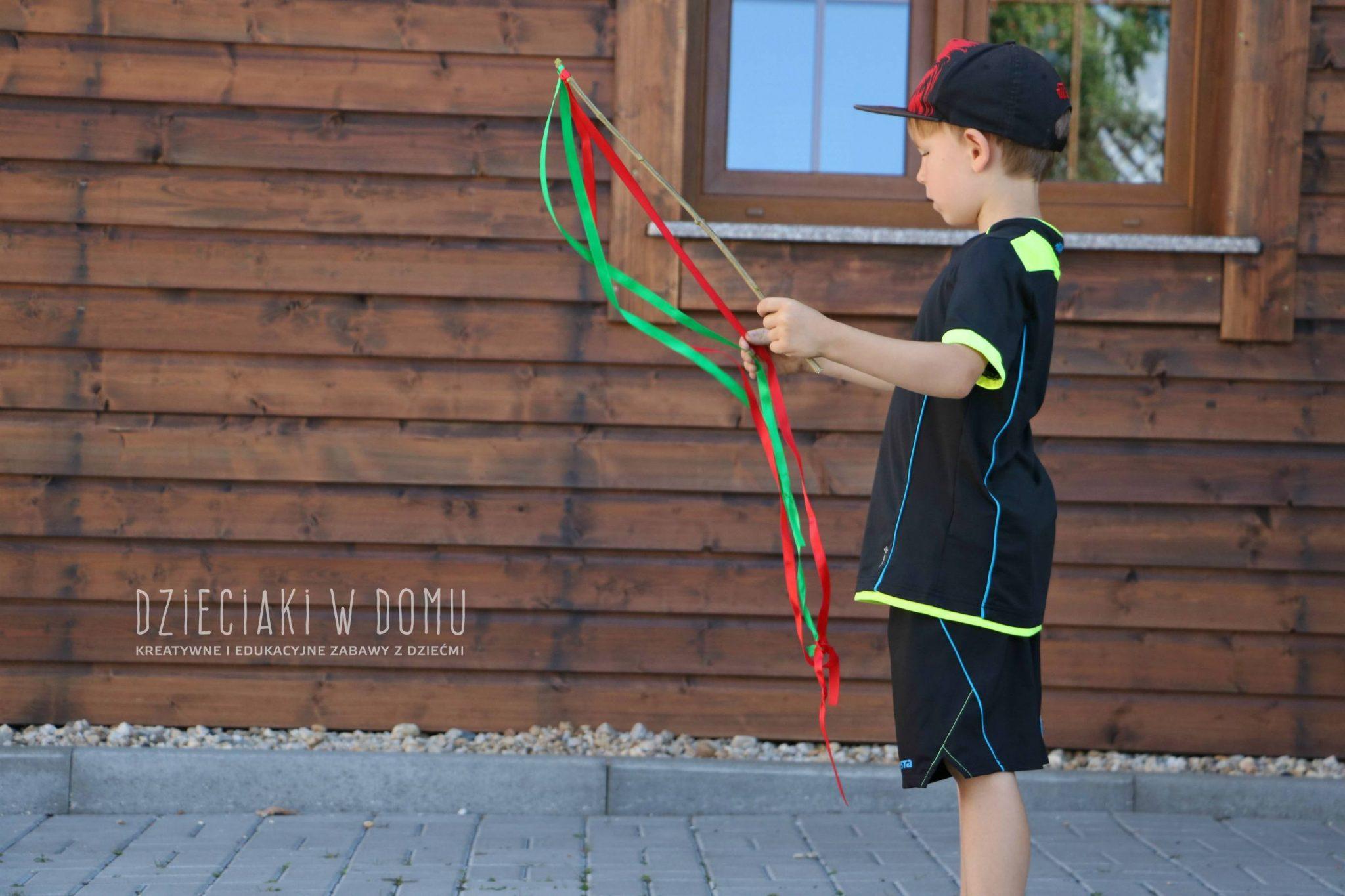 Wstążki do tańca DIY