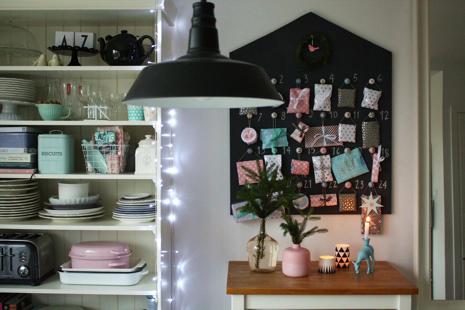pomysły na kalendarz adwentowy DIY