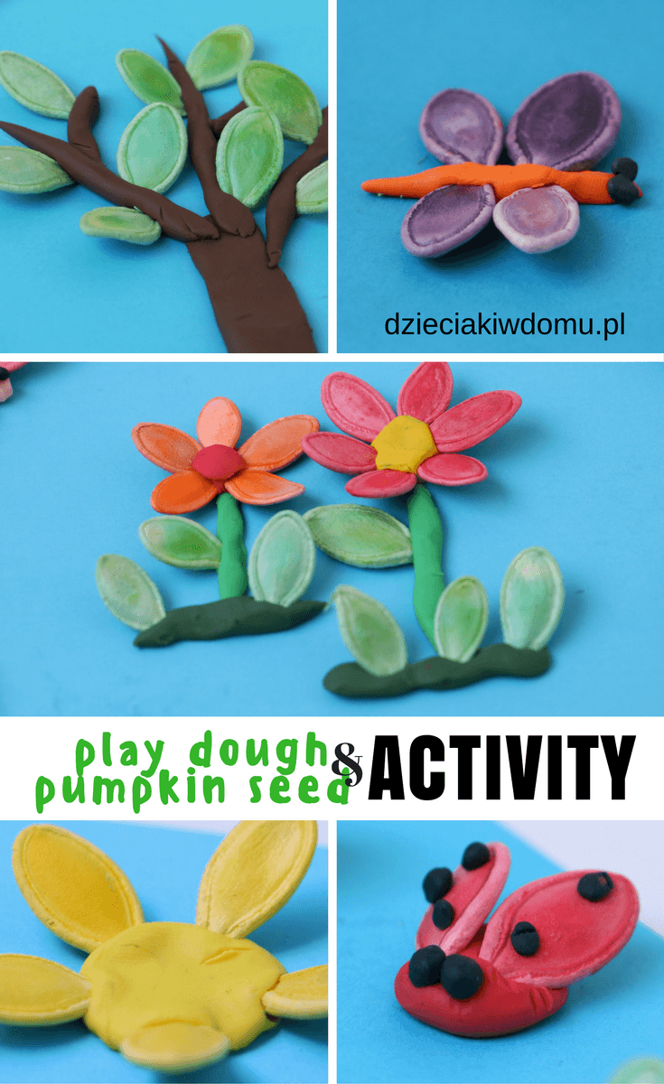 pumpkin-seed-and-play-dough-activity