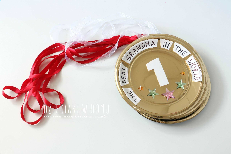 medale dla babci i dziadka diy