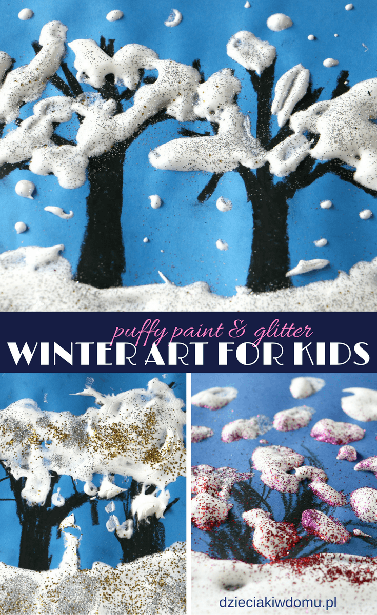 winter art for kids