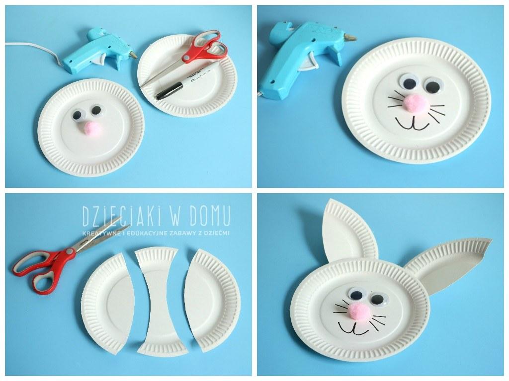 zajaczek z papierowego talerzyka 6