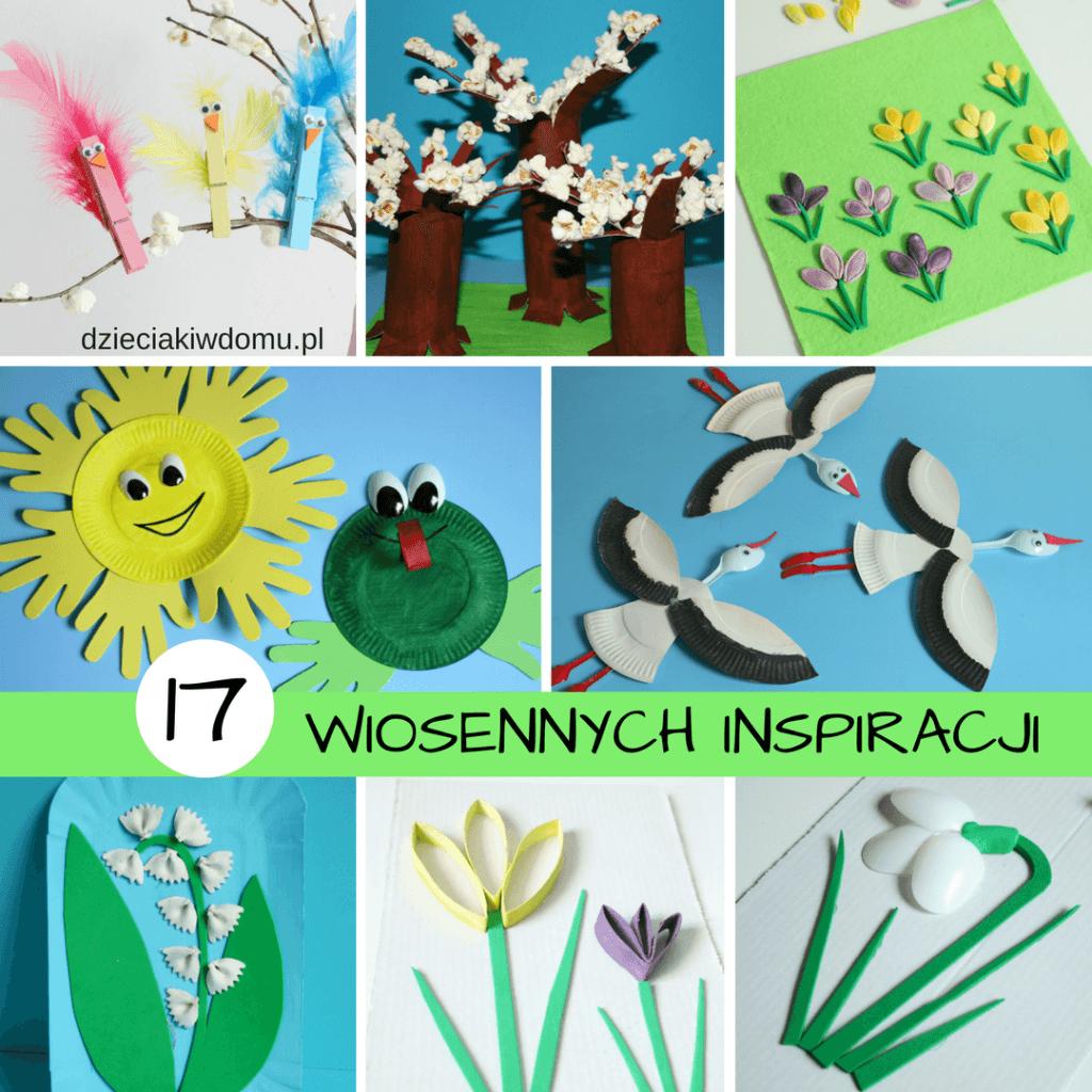 Pomysły na wiosenne prace plastyczne