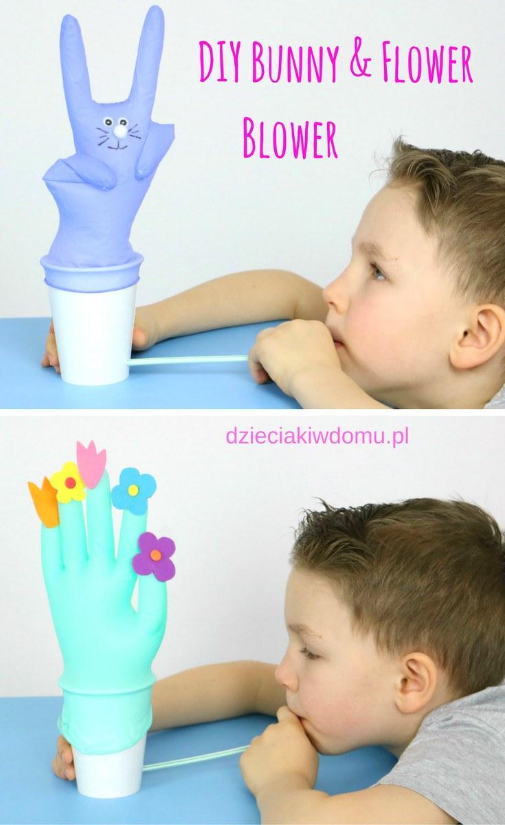DIY bunny blower a