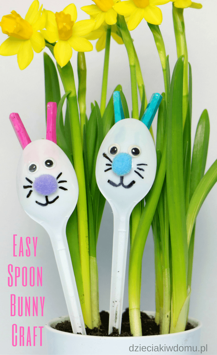 easy spoon bunny craft