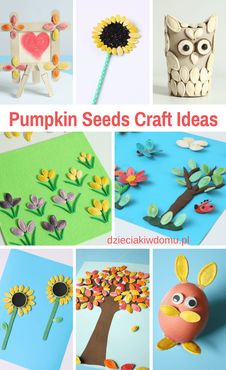 pumpkin seeds craft ideas