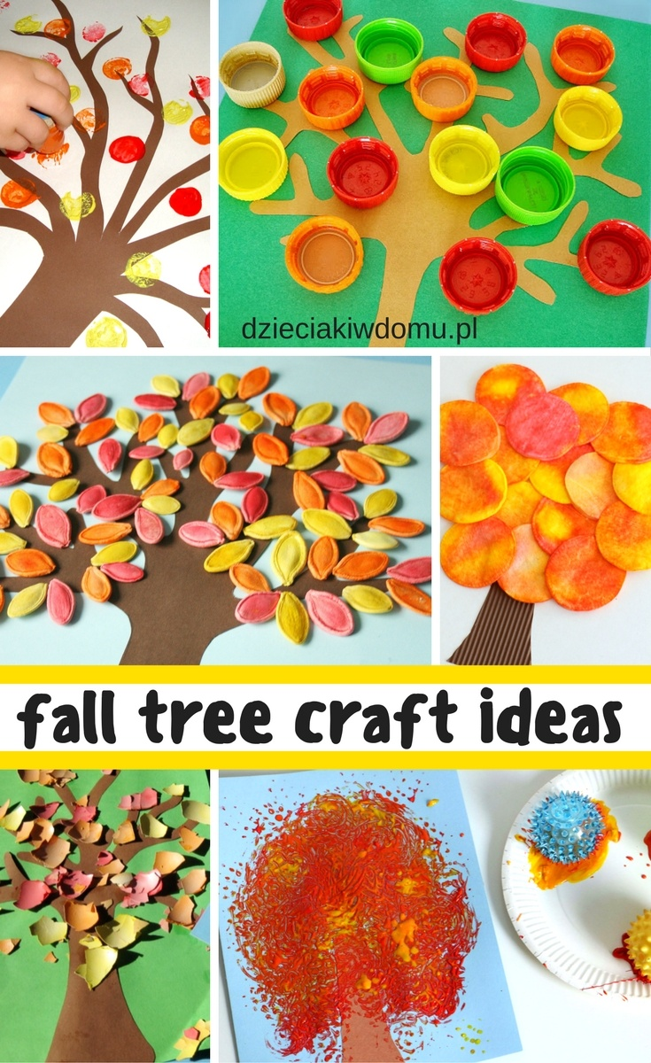 Fall tree craft ideas