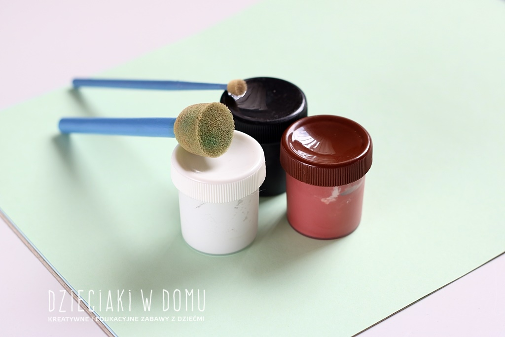 pieski - praca plastyczna