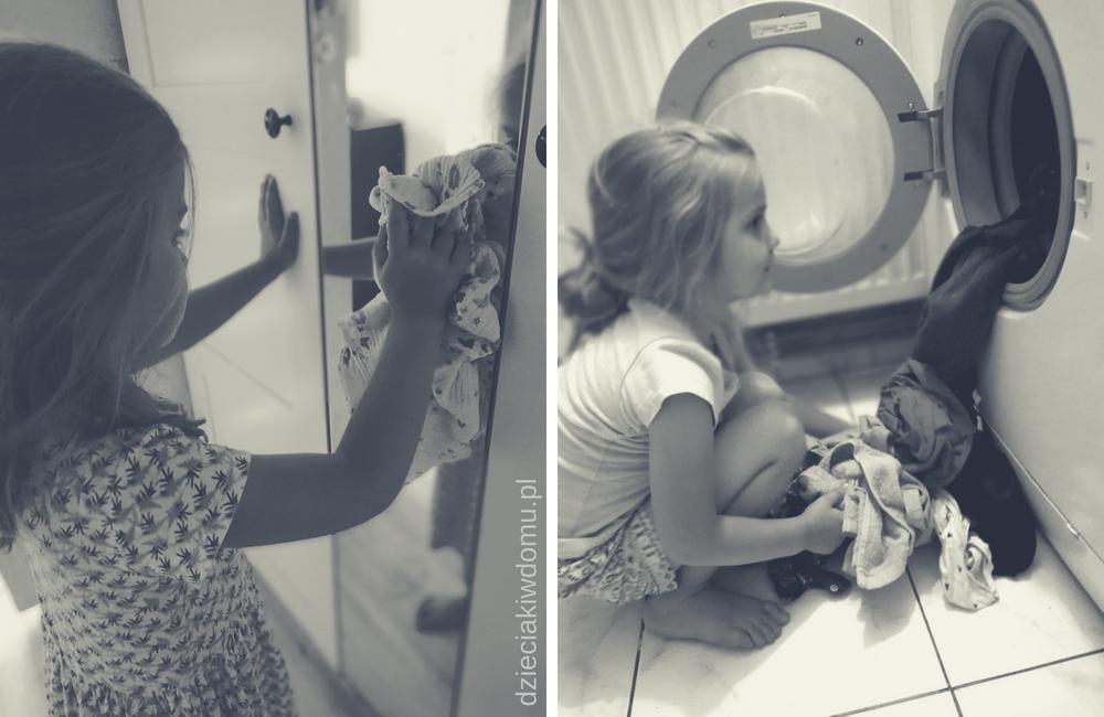 obowiązki domowe małych dzieci
