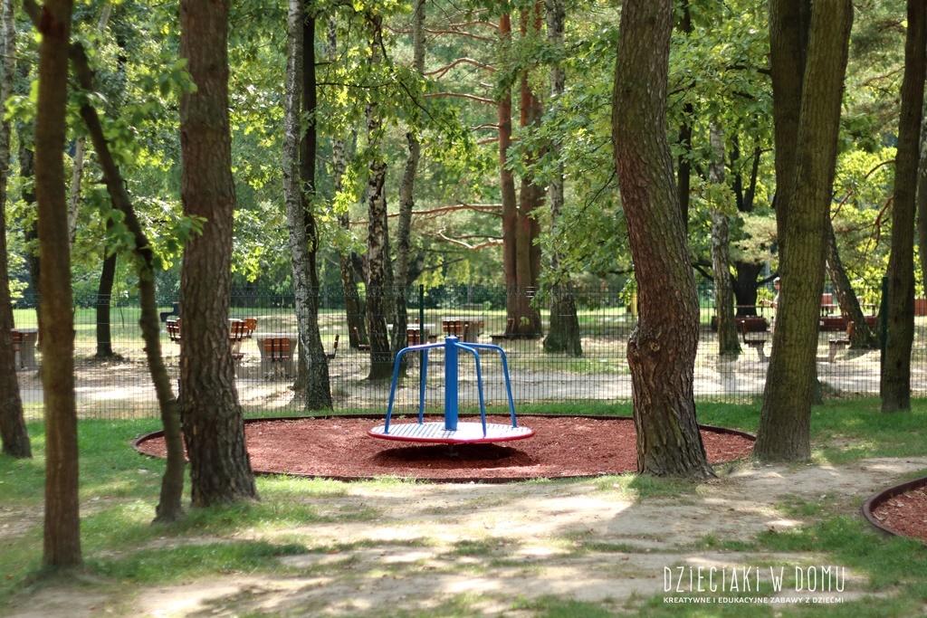 powsin park kultury plac zabaw